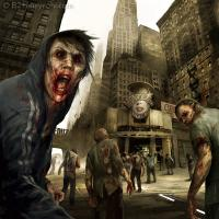 Zombies in the city