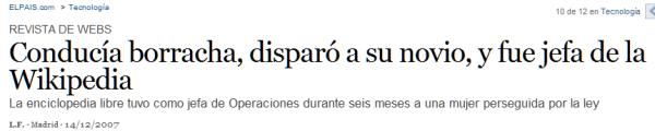 EL PAÍS & la Wikipedia