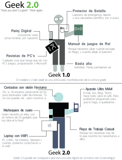 Geek 1.0 - Geek 2.0
