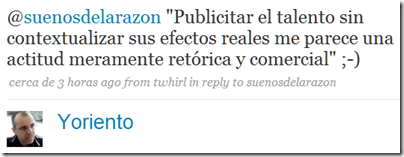 Twitter - Yoriento- @suenosdelarazon -Publicit
